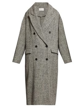 Habra Double Breasted Wool Overcoat by Isabel Marant Étoile