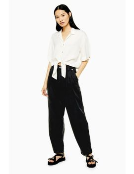Casual Menswear Style Trousers by Topshop