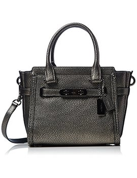 Coach Womens Pebbled Leather Coach Swagger 21 by Coach