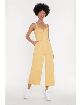 Who Do You Think You're Kidding Corduroy Jumpsuit by Nasty Gal