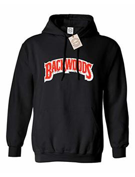 Rivebella Shirt Backwoods Mens Hoodie Hooded Sweatshirt by Rivebella