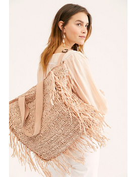 Vacation Mode Straw Tote by Free People
