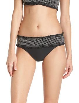 Smocked Hipster Bikini Bottoms by Chelsea28