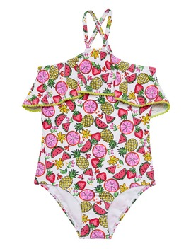 Fruity Floral One Piece Swimsuit by Hula Star