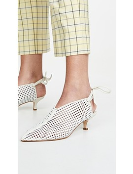 Marcus Wrap Mules by Tibi