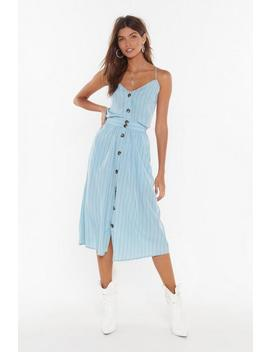 Get Your Priorities Straight Striped Midi Skirt by Nasty Gal