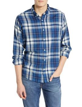 Lennox Regular Fit Plaid Sport Shirt by Rails