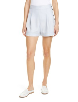 Lettee Side Button Shorts by Club Monaco
