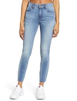 Ellie Raw Hem High Waist Skinny Jeans by Sts Blue