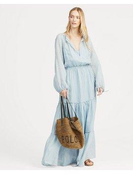 Tiered Skirt Maxidress by Ralph Lauren