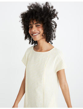 Stripe Play Button Back Dress by Madewell