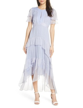 Ruffle Tiered High/Low Midi Dress by Lenon