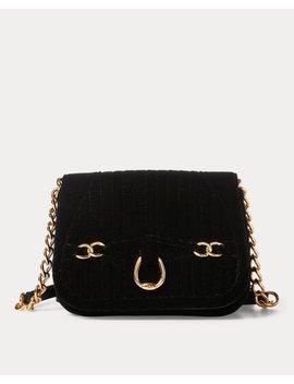 Velvet Crossbody Bag by Ralph Lauren