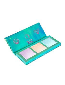 Lime Crime Mermaids Hi Lite Palette. Iridescent Powder Trio   Highlighter Mermaid Makeup For All Skintones. by Lime Crime