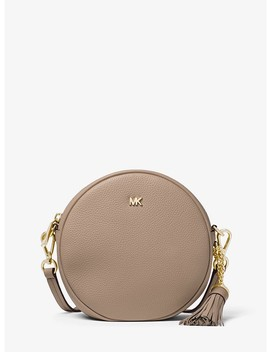 Mercer Medium Pebbled Leather Canteen Crossbody by Michael Michael Kors