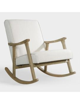 Ivory Joanna Rocking Chair by World Market