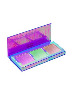 Lime Crime Hi Lite Unicorns Palette. Iridescent Powder Trio   Highlighter Unicorn Makeup For All Skintones. by Lime Crime