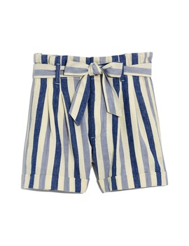 Stripe Paperbag Shorts by Madewell