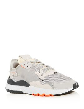 Men's Nite Jogger Low Top Sneakers by Adidas