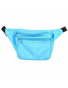 Candy Apple Costumes Lightweight Neon 80's Fanny Pack by Candy Apple Costumes