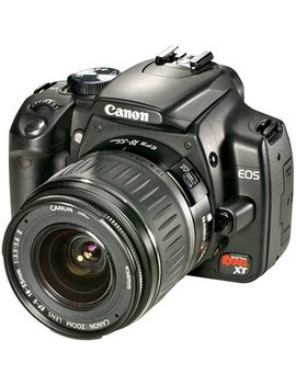 Canon Digital Rebel Xt Dslr Camera With Ef S 18 55mm F3.5 5.6 Lens (Black) (Old Model) by Canon