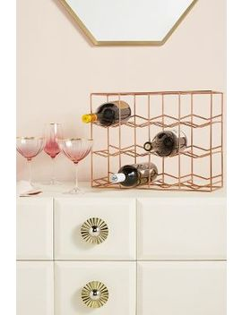 Camellia Wine Rack by Anthropologie