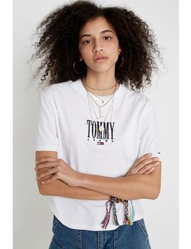 Tommy Jeans Embroidered Logo T Shirt by Tommy Jeans