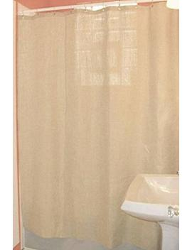 "Bean Products Hemp Shower Curtain Size: 70"" X 74"" by Bean Products"