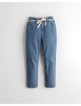 Ultra High Rise Mom Jeans by Hollister