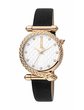 Just Cavalli Jc1 L075 L0045 316 L Stainless Steel Mineral Crystal Tang Buckle Watch by Just Cavalli