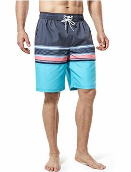Tsla Men's Swimtrunks Quick Dry Water Beach Msb02 / Msb13 / Msb01 by Tsla