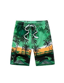 Gymleader Men's Beach Surfing Boardshorts Swimming Trunks Hawaiian Shorts by Gymleader