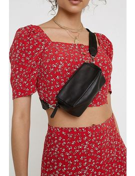 Uo Mini Leather Crossbody by Urban Outfitters
