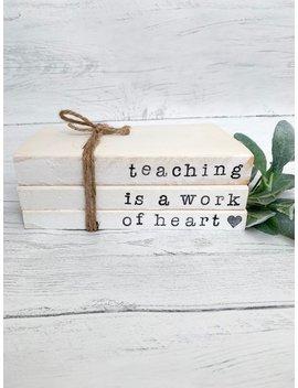 Teacher Gift Book Set by Etsy