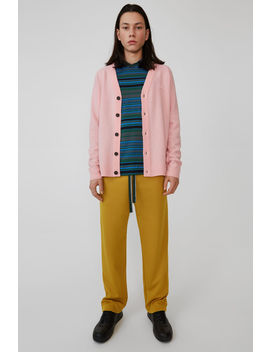 Cardigan Sweater Blush Pink by Acne Studios