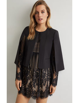Zip Front Capelet by Bcbgmaxazria