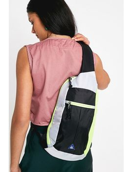Iets Frans... Yellow Ripstop One Shoulder Backpack by Iets Frans...