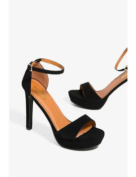 First In Line Platform Heel by A'gaci