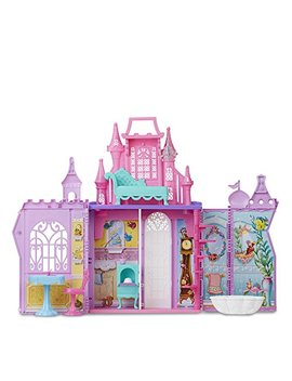 Disney Princess Pop Up Palace, Castle Playset With Handle And 13 Accessories, 5 Rooms, 2 Feet Tall by Disney Princess