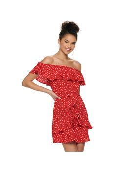 Juniors' Speechless Off The Shoulder Dress by Kohl's