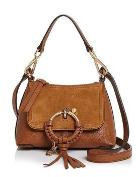 Joan Mini Leather & Suede Hobo by See By Chloé