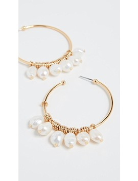 Marquita Hoop Earrings by Bauble Bar
