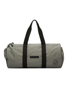 Grey Eco Nylon Sports Bag by Stella Mccartney