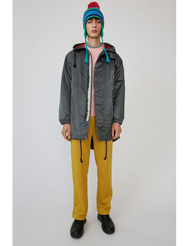 Water Repellent Parka Dark Grey by Acne Studios