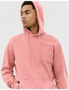 jack-&-jones-originals-drop-shoulder-hoodie-in-pink by jack-&-jones