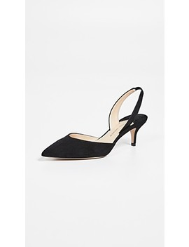Rhea 55 Slingback Pumps by Paul Andrew