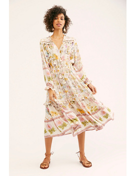 Wild Bloom Midi Dress by Spell And The Gypsy Collective