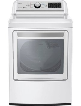 7.3 Cu. Ft. 9 Cycle Gas Dryer   White by Lg