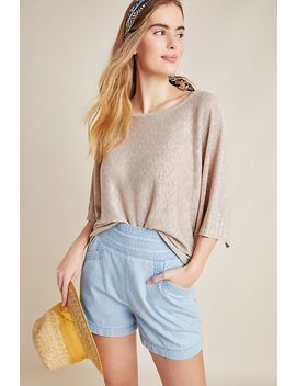 Alicia Shimmer Pullover by Anthropologie