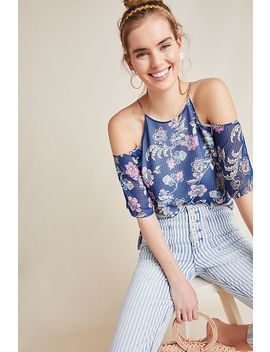 Maisie Open Shoulder Blouse by Daniel Rainn